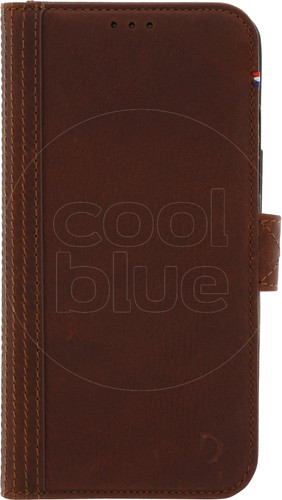 Decoded Leather Wallet Apple iPhone X/Xs Book Case Brown Main Image