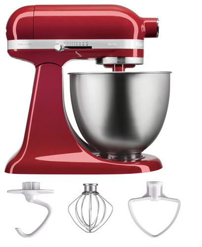 KitchenAid Artisan Mini Mixer 5KSM3311XEER Keizerrood Main Image