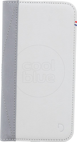Decoded Leather Wallet Apple iPhone 6/6s/7/8 Book Case White Main Image