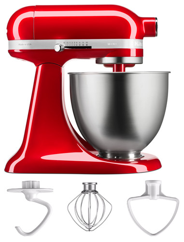 KitchenAid Artisan Mini Mixer 5KSM3311XECA Appelrood Main Image
