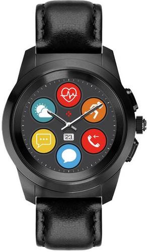 MyKronoz ZeTime 44mm Smartwatch Premium Zwart Main Image