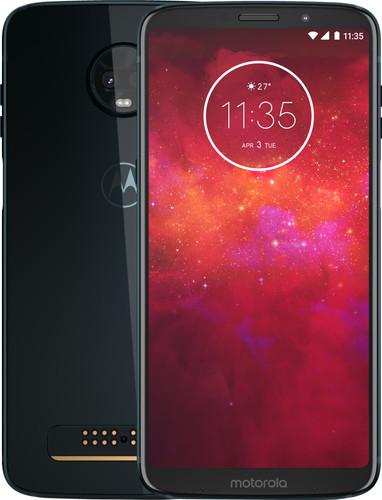Motorola Moto Z3 Play Blauw Main Image