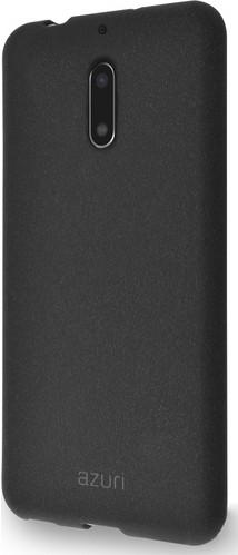 Azuri Flexible Sand Nokia 6/6 Arte Back Cover Black Main Image