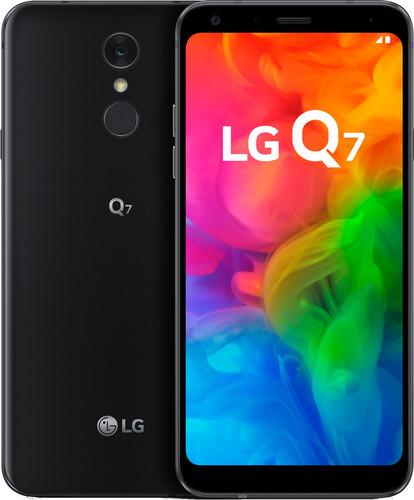 LG Q7 Zwart Main Image