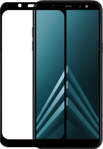 Azuri Gehard Glas Samsung Galaxy A6 (2018) Screenprotector Glas Zwart Main Image