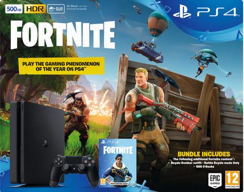 Sony PlayStation 4 Slim 500 GB + Fortnite bundel Main Image