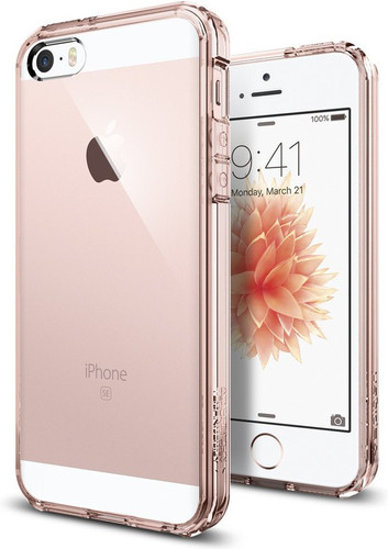 Spigen Ultra Hybrid Apple iPhone 5 / 5s / SE Pink Main Image