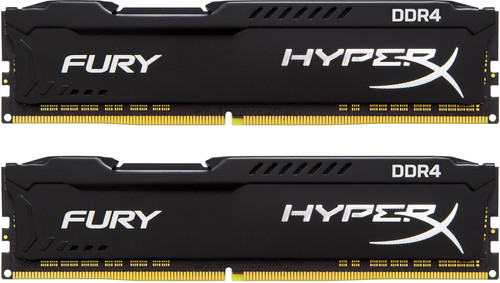 Kingston Hyper X FURY Black 8GB 2666MHz DDR4 DIMM 2 x 4GB Main Image