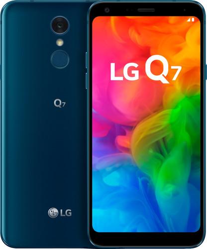 LG Q7 Blauw Main Image