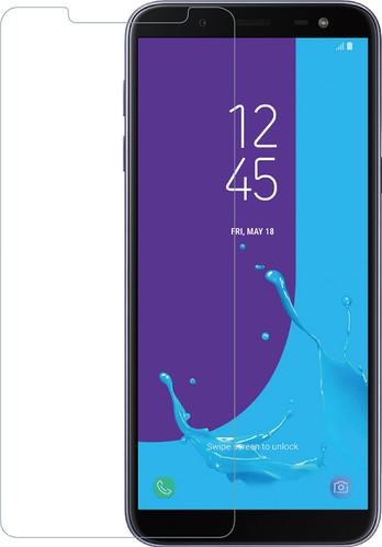 Azuri Gehard Glas Samsung Galaxy J6 (2018) Screenprotector Glas Zwart Main Image
