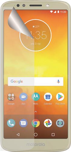 Azuri Motorola Moto E5 Screen Protector Plastic Duo Pack Main Image