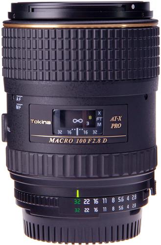 Tokina F 100mm f/2.8 Macro AT-X Pro D Nikon Main Image