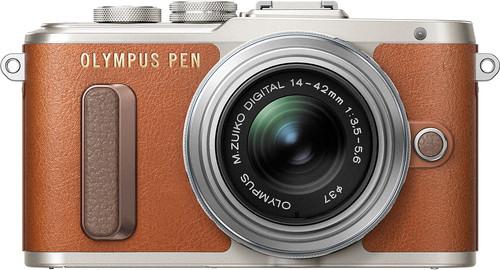 Olympus E-PL8 1442 IIR Brown Main Image