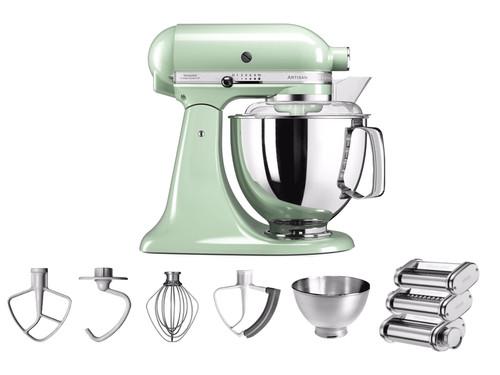 KitchenAid Artisan Mixer 5KSM175PS Pistachio + Pastarola set Main Image