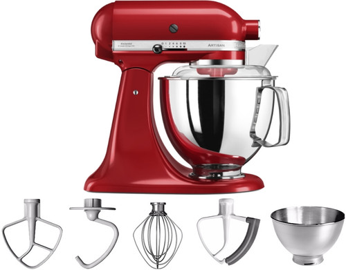 KitchenAid Artisan Mixer 5KSM175PS Empire Red Main Image