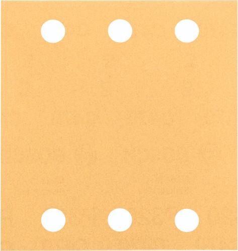 Bosch Sanding sheet 115x107 mm K40, K60, K80, K120, K180 (10x) Main Image