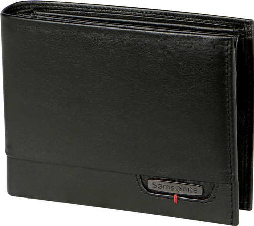 Samsonite Portemonnee.Samsonite Pro Dlx 4s Slg Billfold 8cc Coin Black Coolblue Voor