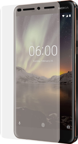 Azuri Nokia 6 (2018) Screen Protector Curved Tempered Glass Main Image