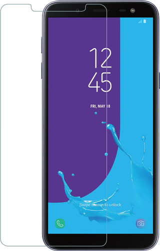 Azuri Samsung Galaxy J6 (2018) Screen Protector Tempered Glass Duo Pack Main Image