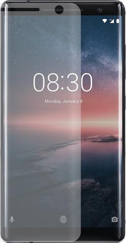 Azuri Nokia 8 Sirocco Screenprotector PET Curved Plastic Duo Pack Main Image