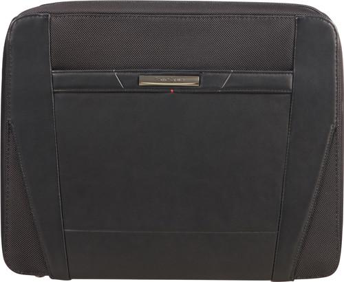 Samsonite Stationery Pro-DLX 5 Zip Folder A4 Top H Black Main Image