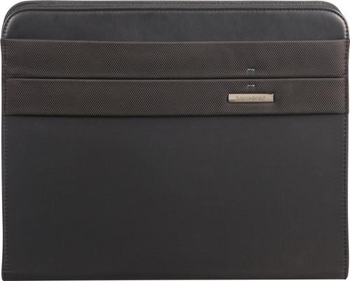 Samsonite Stationery Spectrolite 2 Zip Folder A4 Top H Black Main Image