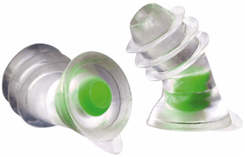 Noizezz Universal Ear Plugs Green Medium Main Image
