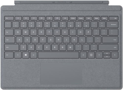 Microsoft Surface Go Type Cover QWERTY Gray Main Image
