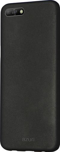 Azuri Metallic Soft Touch Huawei Y6 (2018) Back Cover Black Main Image