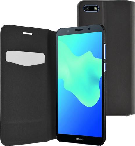 Azuri Booklet Ultra Thin Huawei Y5 (2018) Black Main Image