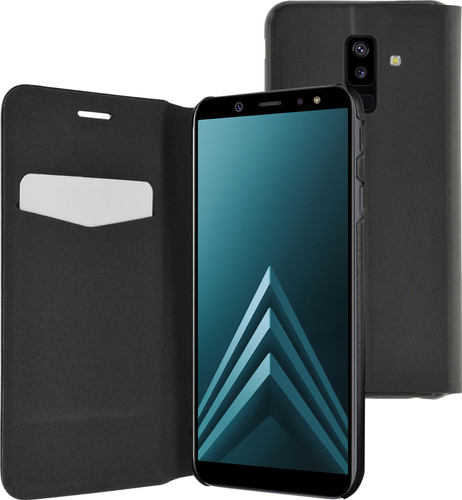Azuri Booklet Ultra Thin Samsung Galaxy A6 Plus (2018) Black Main Image