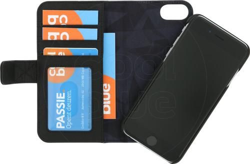 Decoded Wallet Apple iPhone SE 2 / 8 / 7 / 6 / 6s 2-in-1 Case Leer Zwart Main Image
