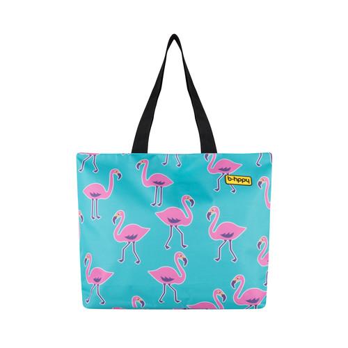 BHPPY beach bag Go Flamingo Main Image