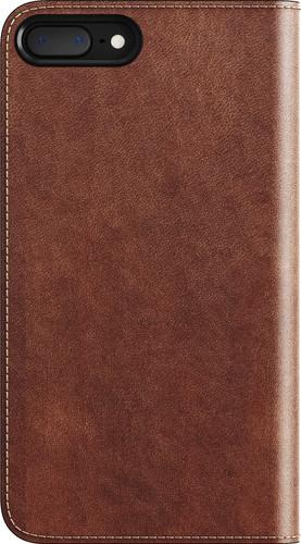 Nomad Leather Folio Apple iPhone 7 Plus/8 Plus Book Case Bruin Main Image
