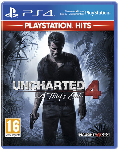 PlayStation Hits: Uncharted 4: A Thief's End PS4 Main Image