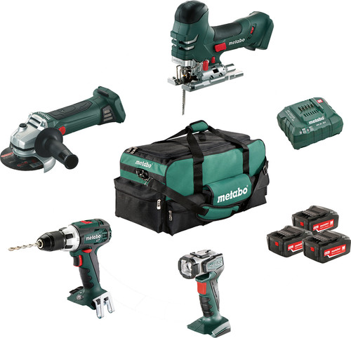 Metabo Combiset: Construction & Renovation - 4 machines Main Image