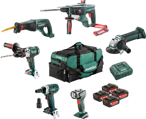Metabo Combiset: Construction & Renovation - 6 machines Main Image