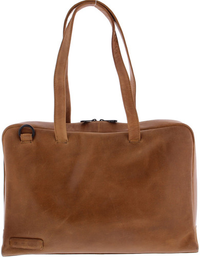 "Plover 1-Box Ladies Shoulder Bag 15.6 ""Full Grain Cowhide Cog Main Image"
