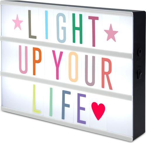 Letter Light Boxes.Alecto Letter Light Box