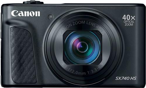 Canon PowerShot SX740 HS Zwart Main Image