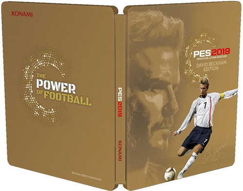 Pro Evolution Soccer 2019 David Beckham Edition PS4 Main Image