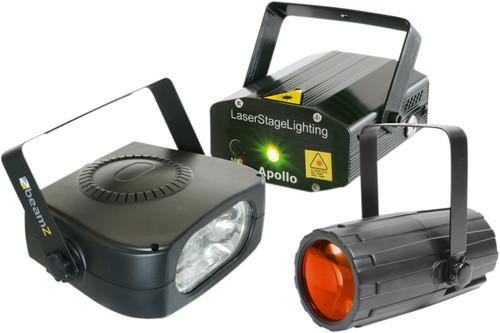 Beamz Light Package 4: Moon + LaserR / G + 150 Main Image