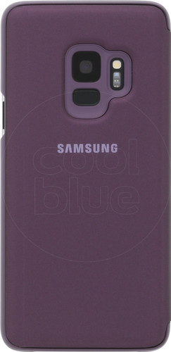 Samsung Galaxy S9 Clear Stand View Cover Purple Main Image
