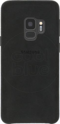 Samsung Galaxy S9 Alcantara Back Cover Black Main Image