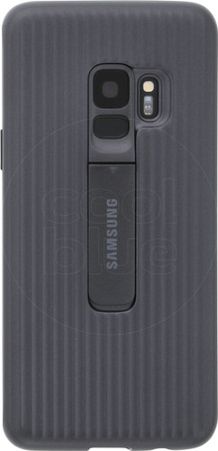 Samsung Galaxy S9 Protect Stand Cover Zwart Main Image