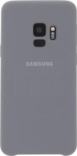 Samsung Galaxy S9 Silicone Back Cover Gray Main Image