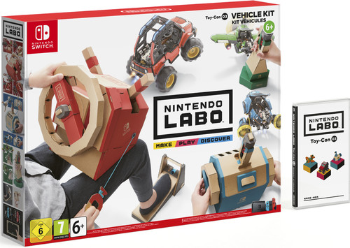 Nintendo Labo: Vehicle Kit Nintendo Switch Main Image