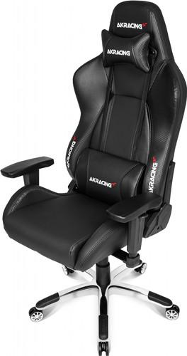 AKRacing, Gaming Chair Master Premium - PU Carbon Zwart Main Image