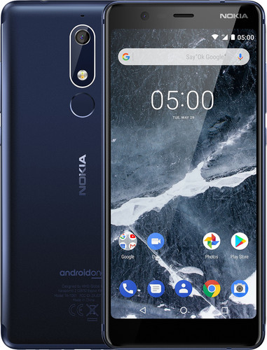 Nokia 5.1 Blauw Main Image
