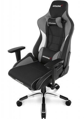 AKRacing, Gaming Chair Master Pro - PU Leather Grijs Main Image